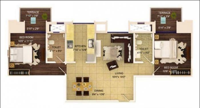 G Orbit Heritage, Pune - Floor Plan