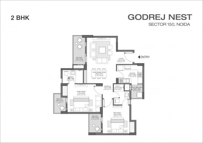 Godrej Nest, Noida - Floor Plan