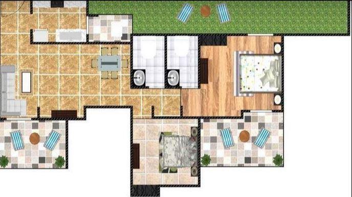 Goldfinger Avenir, Pune - Floor Plan