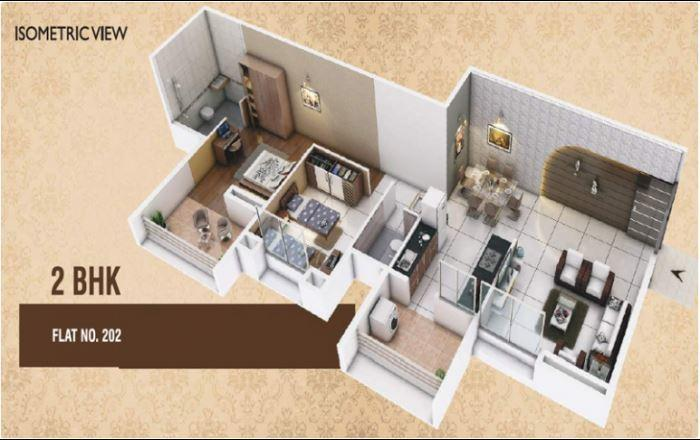 Haware Grand Heritage, Pune - Floor Plan