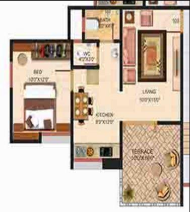 Shree Manibhadra Wakad Centre, Pune - Floor Plan