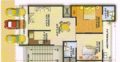 Jyoti Super Village, Ghaziabad - Floor Plan