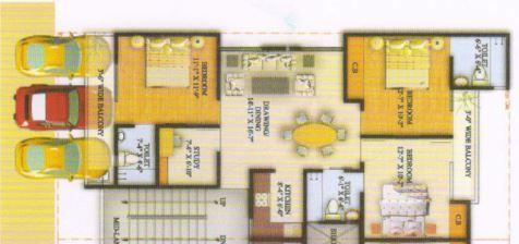 Jyoti Super Village, Ghaziabad - Floor Plan