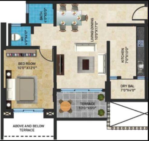 Sheth Tiara, Pune - Floor Plan
