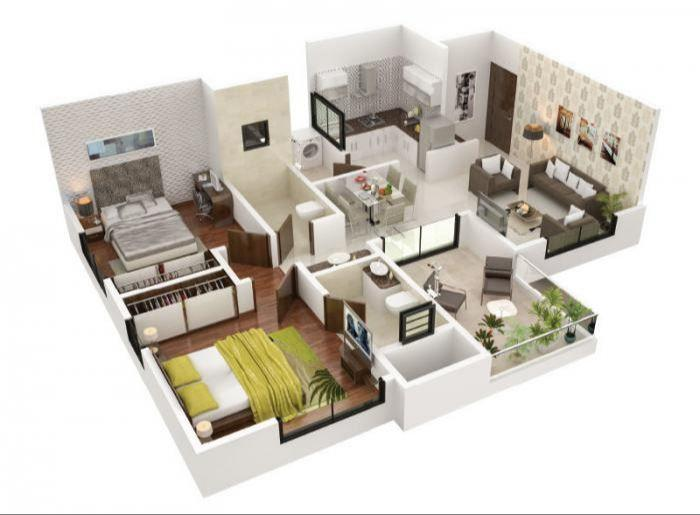 Pristine Prolife Phase III, Pune - Floor Plan