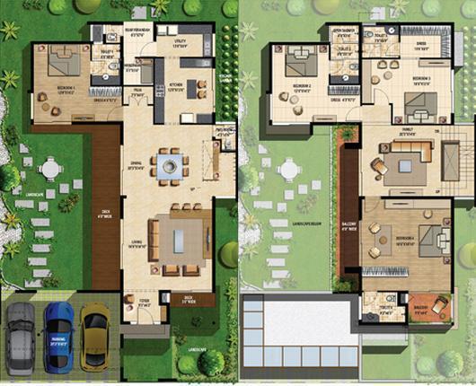 Sterling Villa Grande Phase 2, Bangalore - Floor Plan