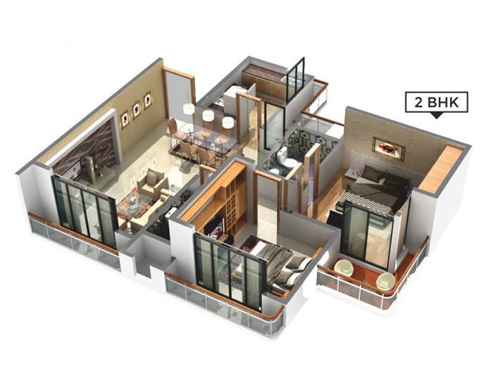 Bhairaav Signature, NaviMumbai - Floor Plan