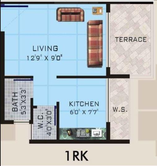 Trust Raghunath Vihar, Mumbai - Floor Plan