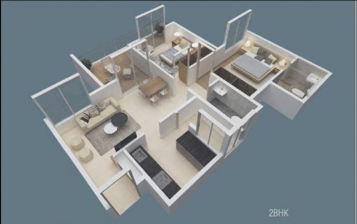Suyog Space Phase I, Pune - Floor Plan