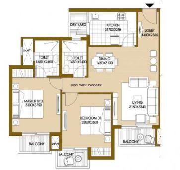 ATS The Hedges, GreaterNoida - Floor Plan