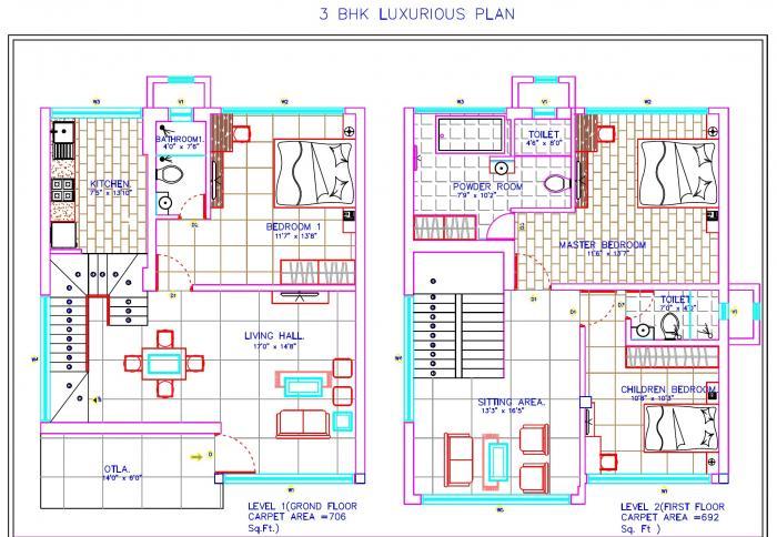 The Destination, Mumbai - Floor Plan
