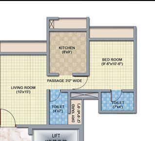 Rosa Gardenia, Thane - Floor Plan