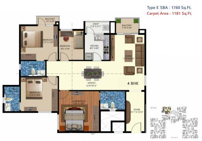 Arge Urban Bloom, Bangalore - Floor Plan