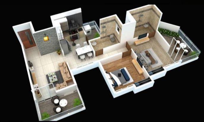 Abhiman Blithe Icon, Pune - Floor Plan