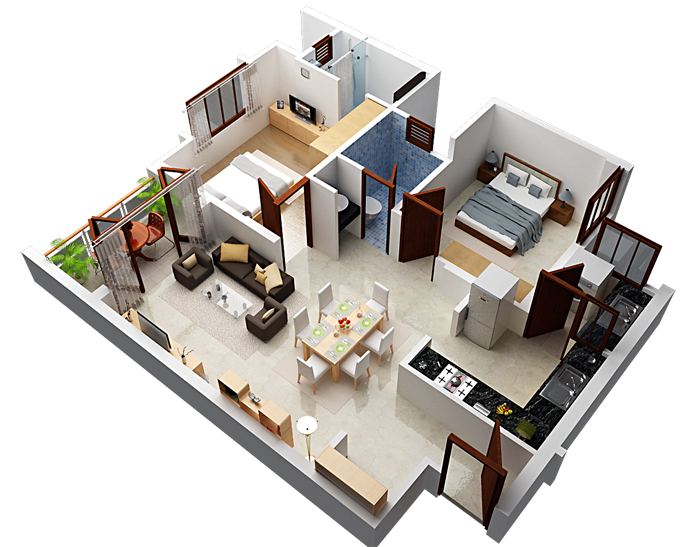 Shriram Sameeksha, Bangalore - Floor Plan