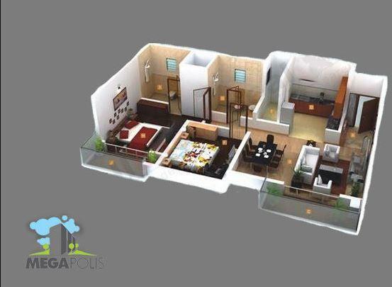 Pegasus Megapolis Mystic, Pune - Floor Plan