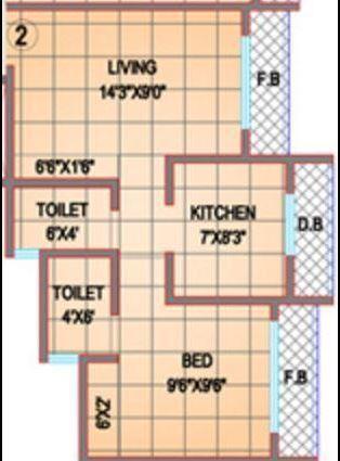 Shree Shakun Greens, Mumbai - Floor Plan