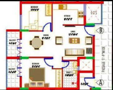 Space Vazwin Streak, Mangalore - Floor Plan