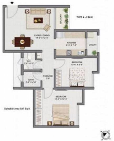 Galaxy Vineet, Pune - Floor Plan
