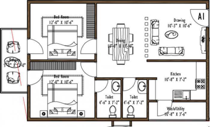 Hilife Sunny Side, Bangalore - Floor Plan
