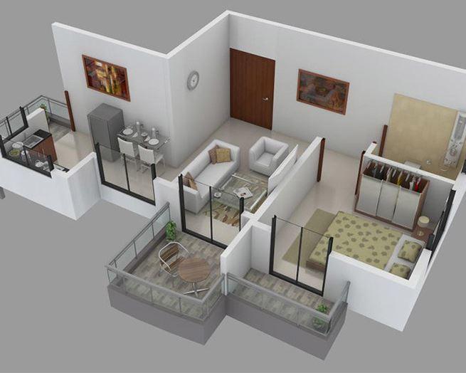 The Pristine Horizon Village Residency 2, Pune - Floor Plan