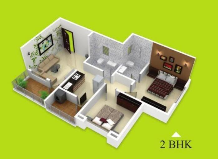 Kohinoor Bliss Park, Pune - Floor Plan