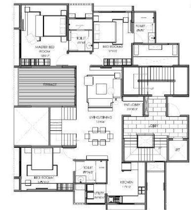 Marvel Castella, Pune - Floor Plan