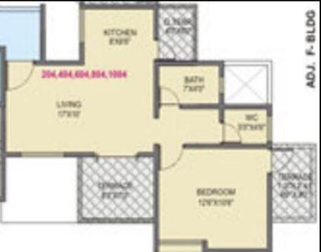 Yash Platinum, Pune - Floor Plan