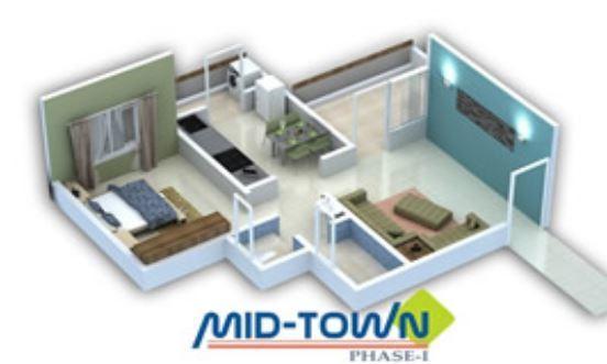 Avirat Mid Town Phase I, Pune - Floor Plan