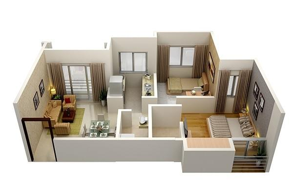 Samrin Sudama Regency, Thane - Floor Plan