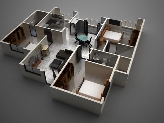 S2 Avantikaa, Bangalore - Floor Plan