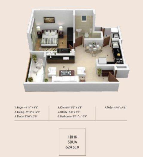 Skylark Ithaca, Bangalore - Floor Plan