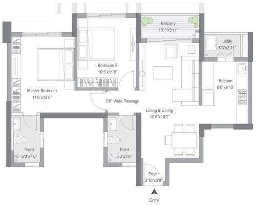 Tata Housing Avenida New Town Action Area II