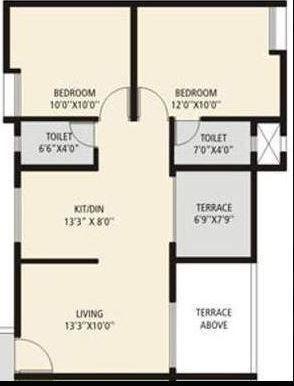 Jalan Aura City, Pune - Floor Plan