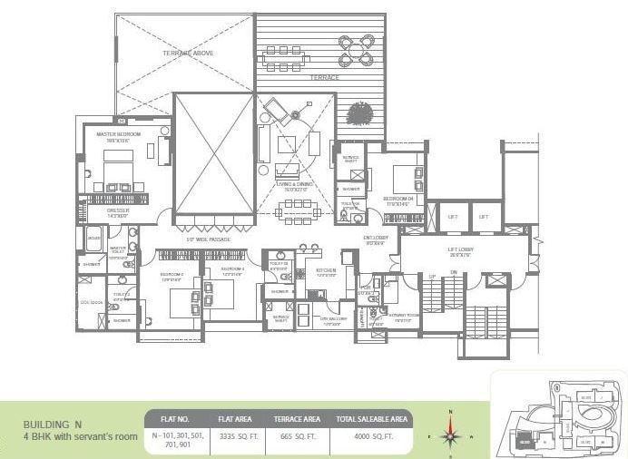 Marvel Bounty II, Pune - Floor Plan