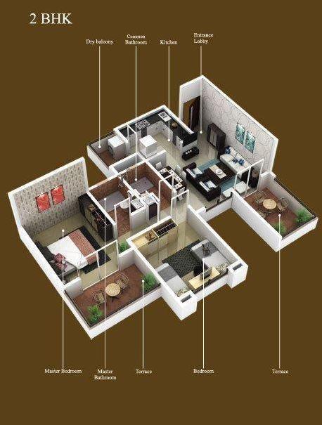 Bhama Golden Nest, Pune - Floor Plan
