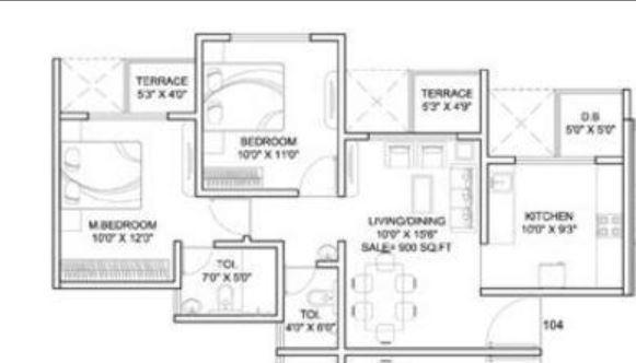 Dynamic Linea, Pune - Floor Plan