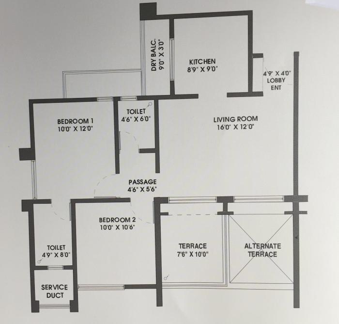 Rama Melange Residences Phase II, Pune - Floor Plan