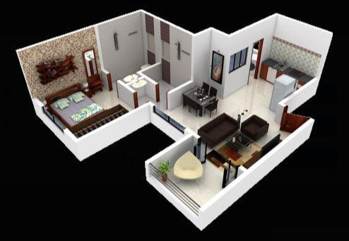 APB Akshay Galaxy, Pune - Floor Plan