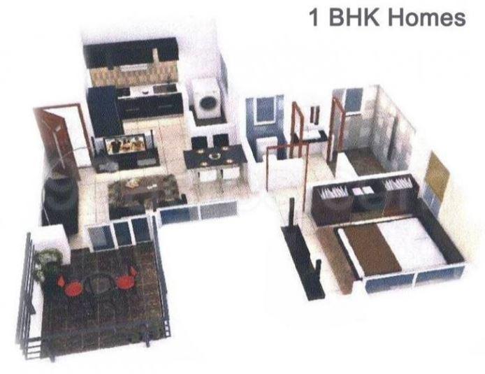 Dhankawade Shlok Homes, Pune - Floor Plan