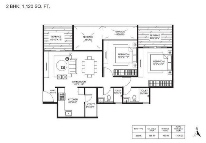 Gagan Adira, Pune - Floor Plan