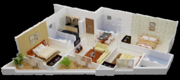 Prospero Hilltop, Bangalore - Floor Plan