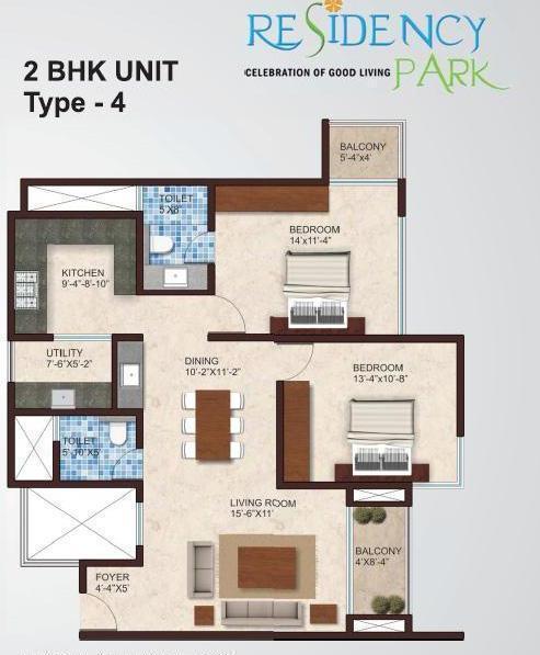 Southern Heritage Residency Park, Bangalore - Floor Plan