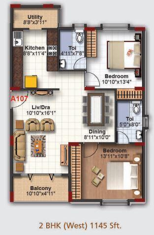 Obel Banjara, Bangalore - Floor Plan