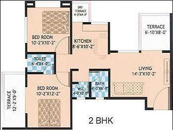 Shaama Estate Phase II, Pune - Floor Plan