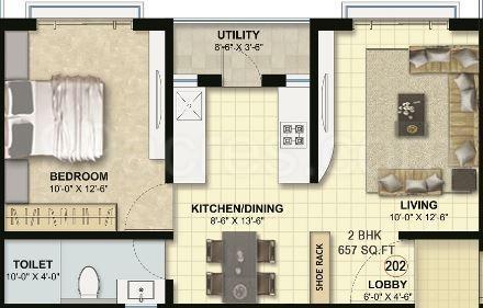 Malpani Ashish Heritage, Nashik - Floor Plan