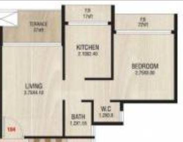 Shreeji Dreams, NaviMumbai - Floor Plan