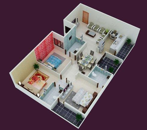 Saveria Metropole, Bangalore - Floor Plan