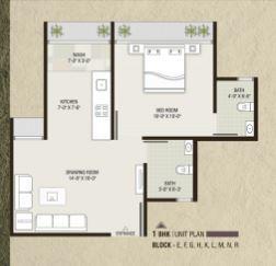 Devnandan Sankalp City I, Ahmedabad - Floor Plan