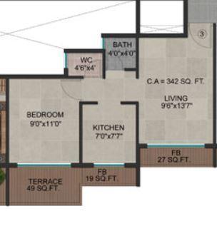 Apex Landmark, NaviMumbai - Floor Plan